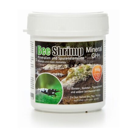 SaltyShrimp Bee Shrimp Mineral GH+ 110 g