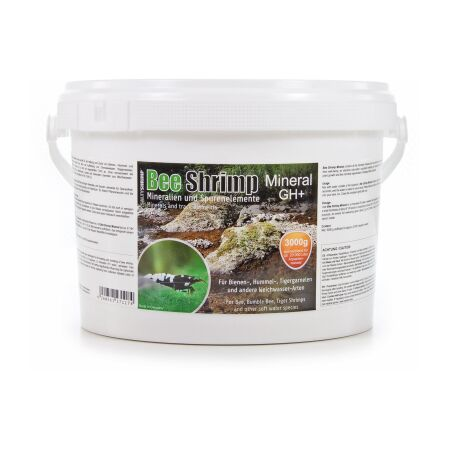SaltyShrimp Bee Shrimp Mineral GH+ 3.000 g