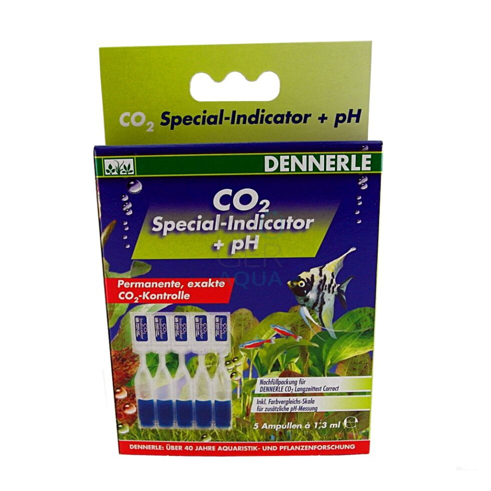 dennerle co2 special indicator ph co2 indikatorl sung. Black Bedroom Furniture Sets. Home Design Ideas